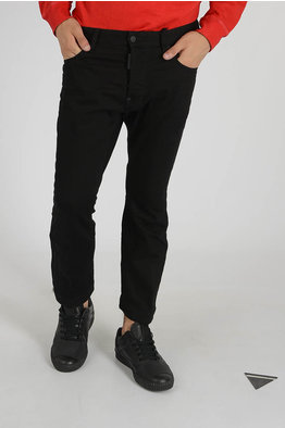Dsquared2 16 cm Stretch Denim SEXY TWIST Jeans men - Cuoieria Shop ... b4e294a9f180