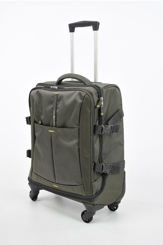 4MATION Cabin Size Trolley 55cm 4w Olive Green