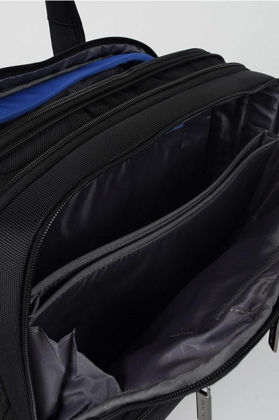 AEROSPACE Cartella Business porta PC 15.6'' Nero