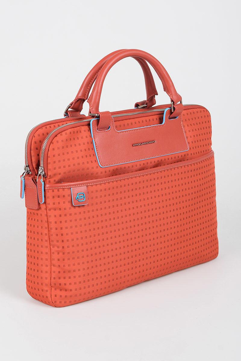 af859a500c AKI Cartella porta PC estraibile Rosso Piquadro uomo - Cuoieria Shop ...
