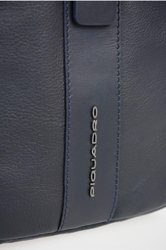 BAE Borsello a Tracolla per Ipad in Pelle Blu