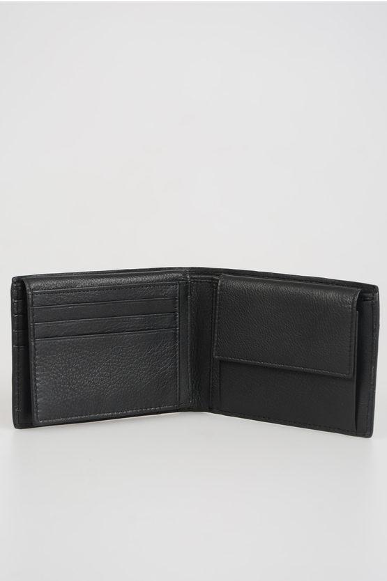 BAE Leather Wallet Black