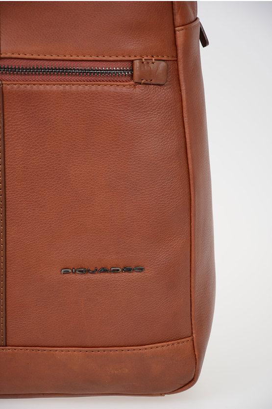 BAE Zaino in Pelle Porta iPad e Tablet Marrone