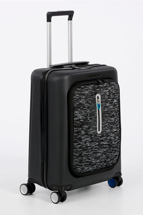 BAGMOTIC Trolley Cabina 55cm 4R con bluetooth Nero