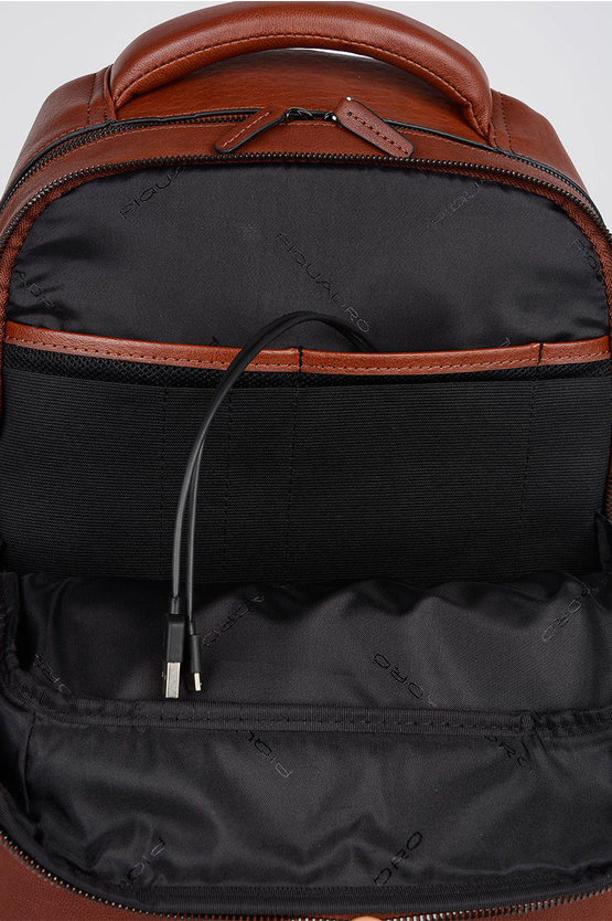 BAGMOTIC Zaino porta PC/iPad Cuoio