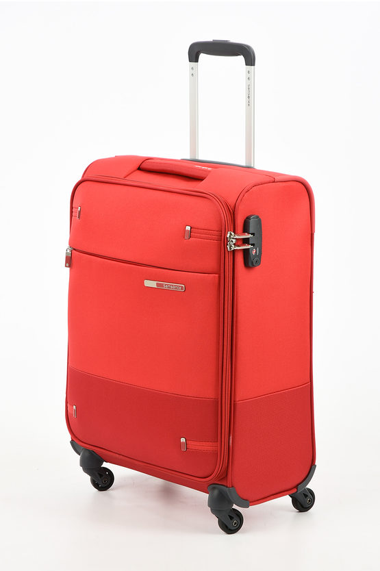 BASE BOOST Cabin Trolley 55cm 4W Red