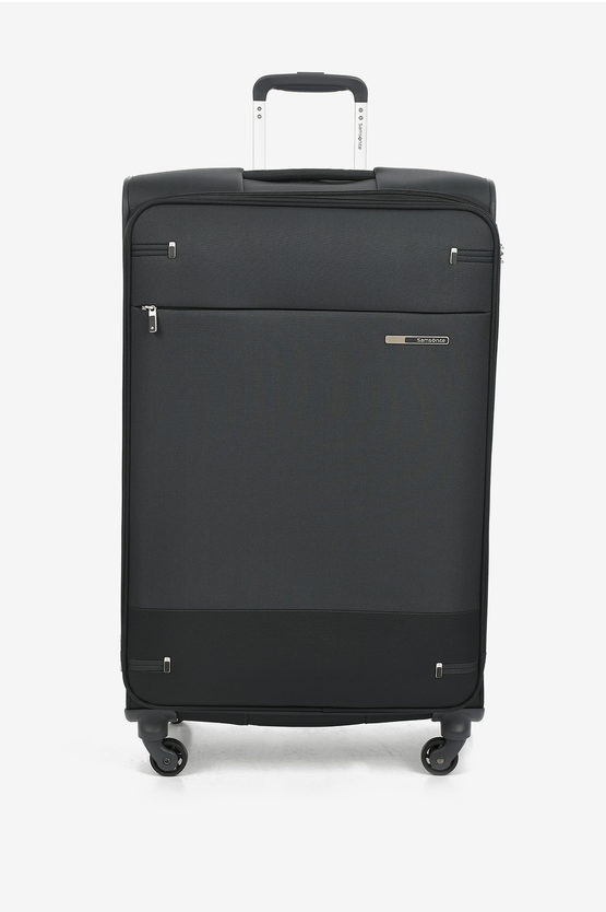 BASE BOOST Large Trolley 78cm 4W Expandable Black