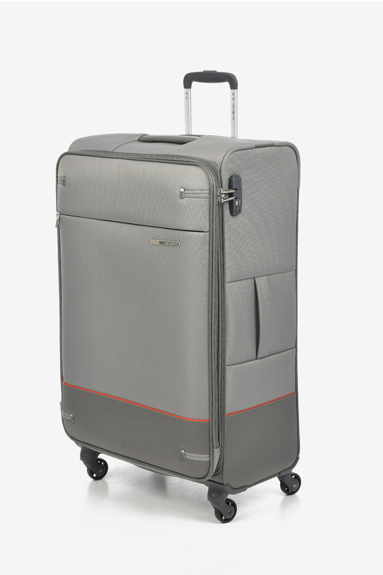 BASE BOOST Large Trolley 78cm 4W Expandable Grey