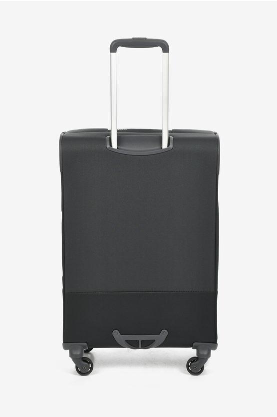 BASE BOOST Medium Trolley 66cm 4W Expandable Black