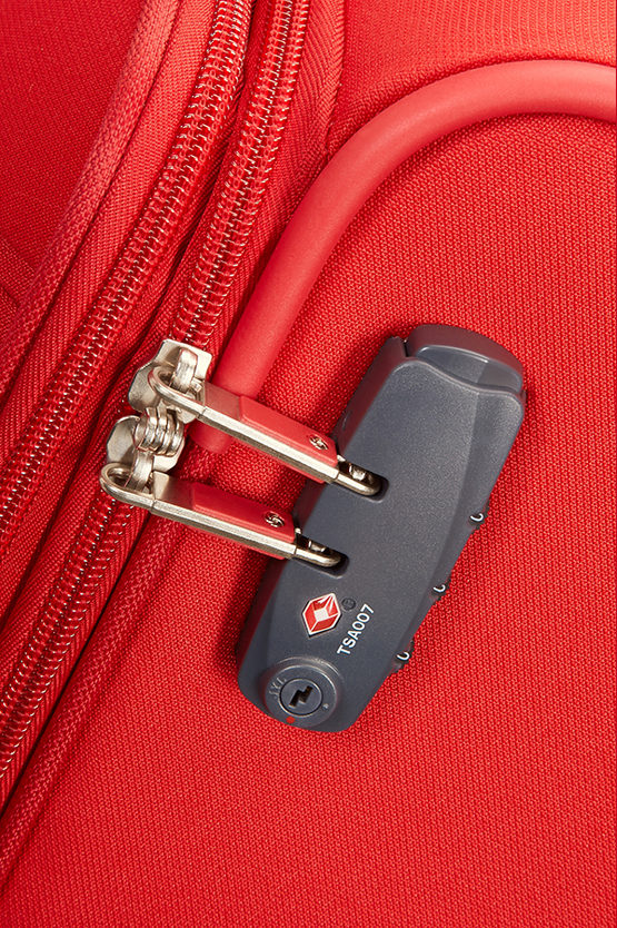 BASE BOOST Trolley Grande 78cm 4R Espandibile Rosso