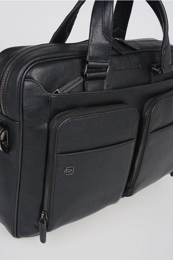 BLACK SQUARE Borsa porta PC/iPad CONNEQU Nero