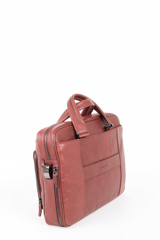 BLACK SQUARE Borsa sottile porta PC iPad CONNEQU Rosso