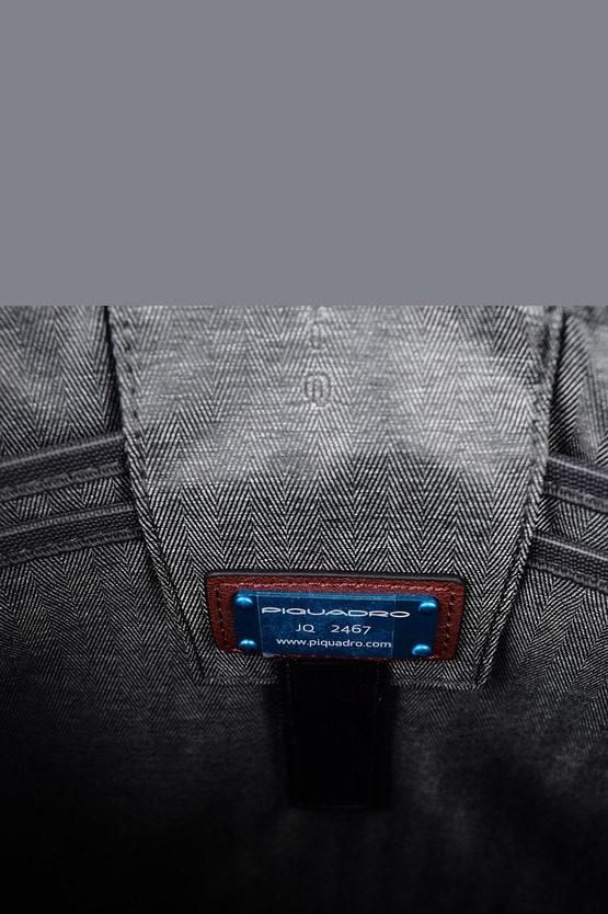 BLACK SQUARE Borsa sottile porta PC iPad CONNEQU Rosso
