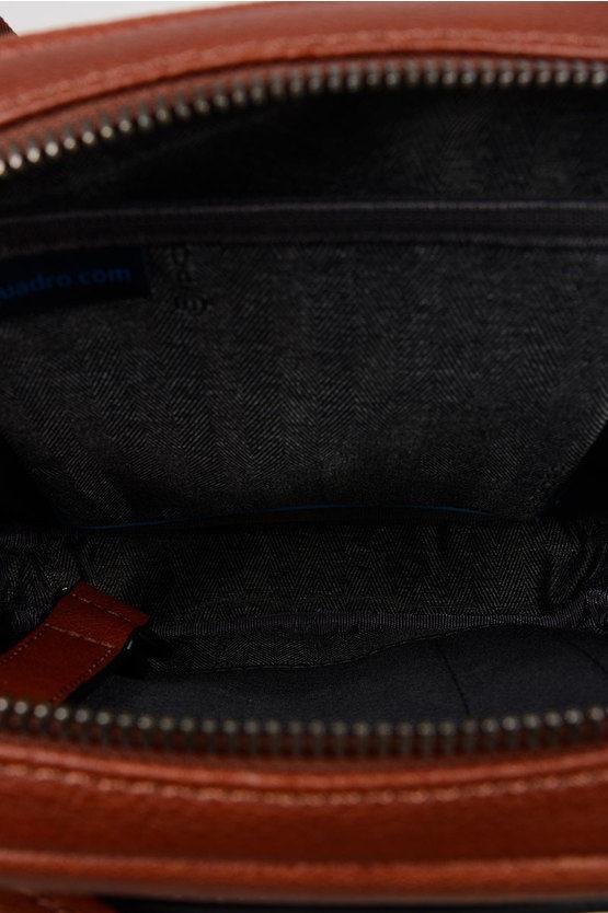 BLACK SQUARE Borsello porta iPad®mini Cuoio