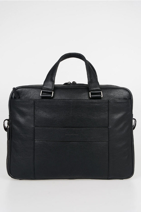 BLACK SQUARE Briefcase Bag for PC/iPad CONNEQU Black