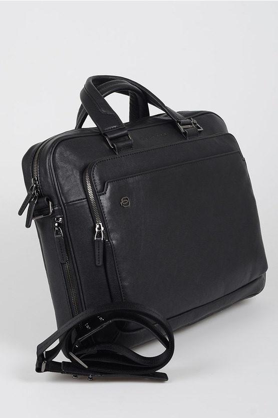 BLACK SQUARE Briefcase for PC iPad®Air/Pro 9.7 CONNEQU Black