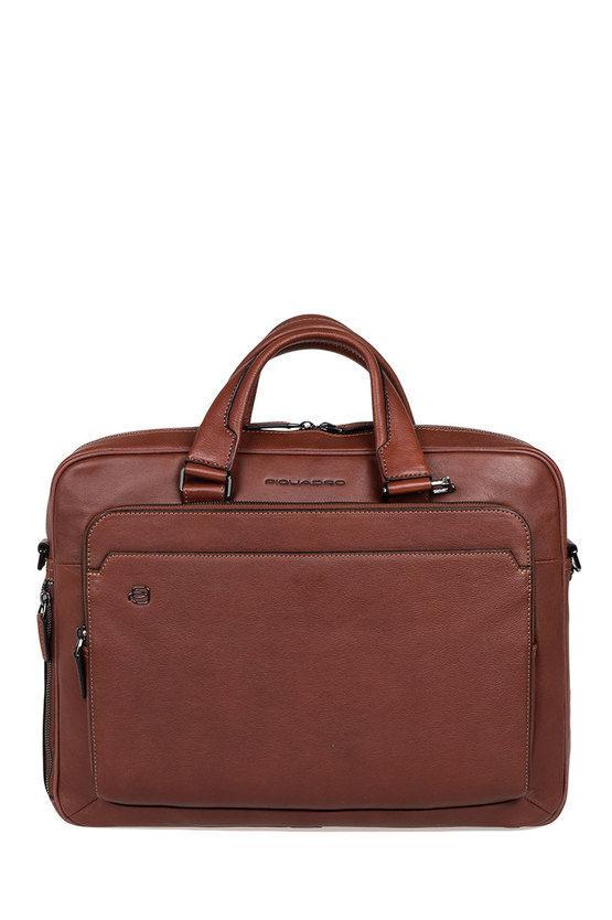 BLACK SQUARE Briefcase for PC iPad®Air/Pro 97 CONNEQU Brown