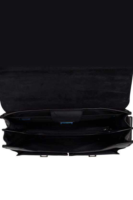 BLACK SQUARE Briefcase for PC iPad®Air/Pro 97 CONNEQU Dark Brown