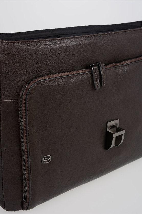BLACK SQUARE Cartella porta PC 15'' Espandibile Testa di Moro