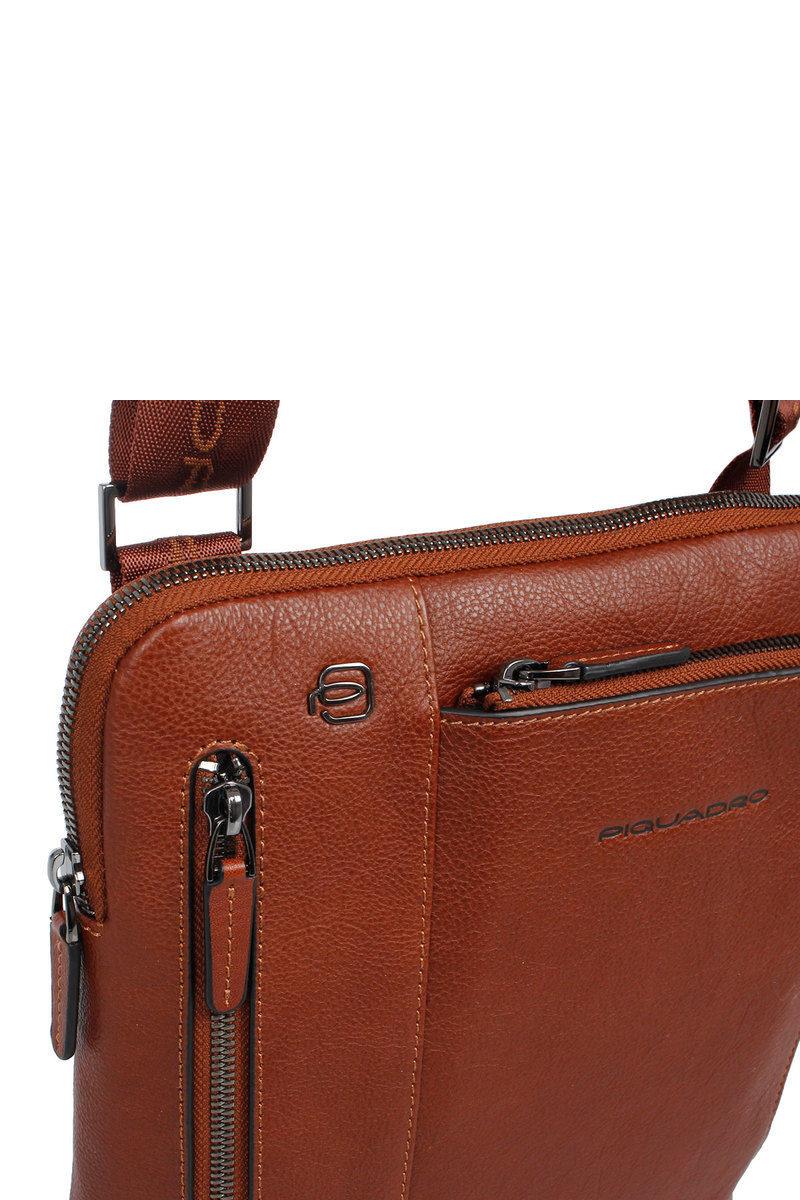 Cross men Brown 7 SQUARE Bag BLACK for iPad®AirPro body Piquadro 9 zgwExRvq
