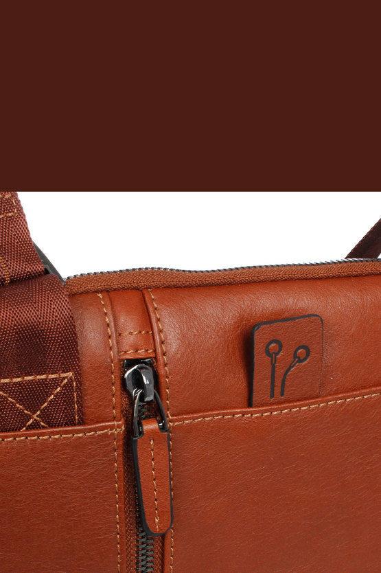 BLACK SQUARE Cross-body Bag for iPad®Air/Pro 9.7 Brown