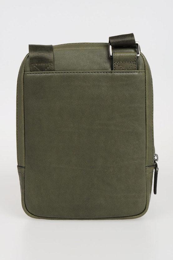 BLACK SQUARE Crossbody Bag for iPad®mini Green