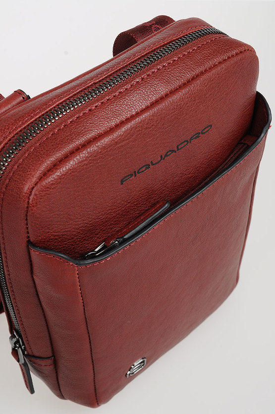 BLACK SQUARE Crossbody Bag for iPad®mini Red