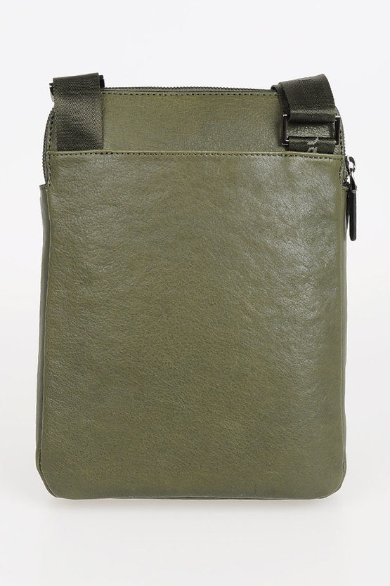 BLACK SQUARE Crossbody Bag for iPad Air/Pro Green
