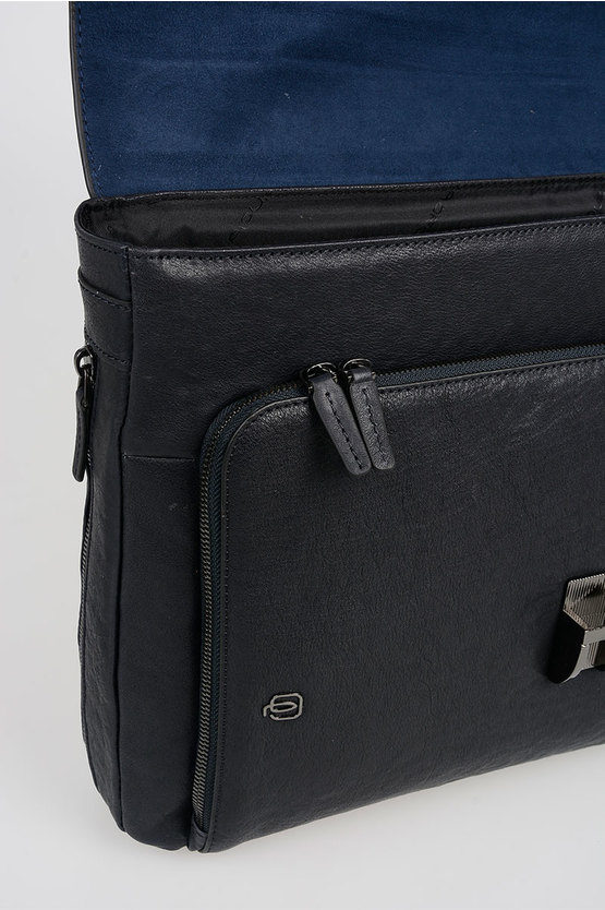 BLACK SQUARE Laptop Briefcase 15'' Expandable Blue