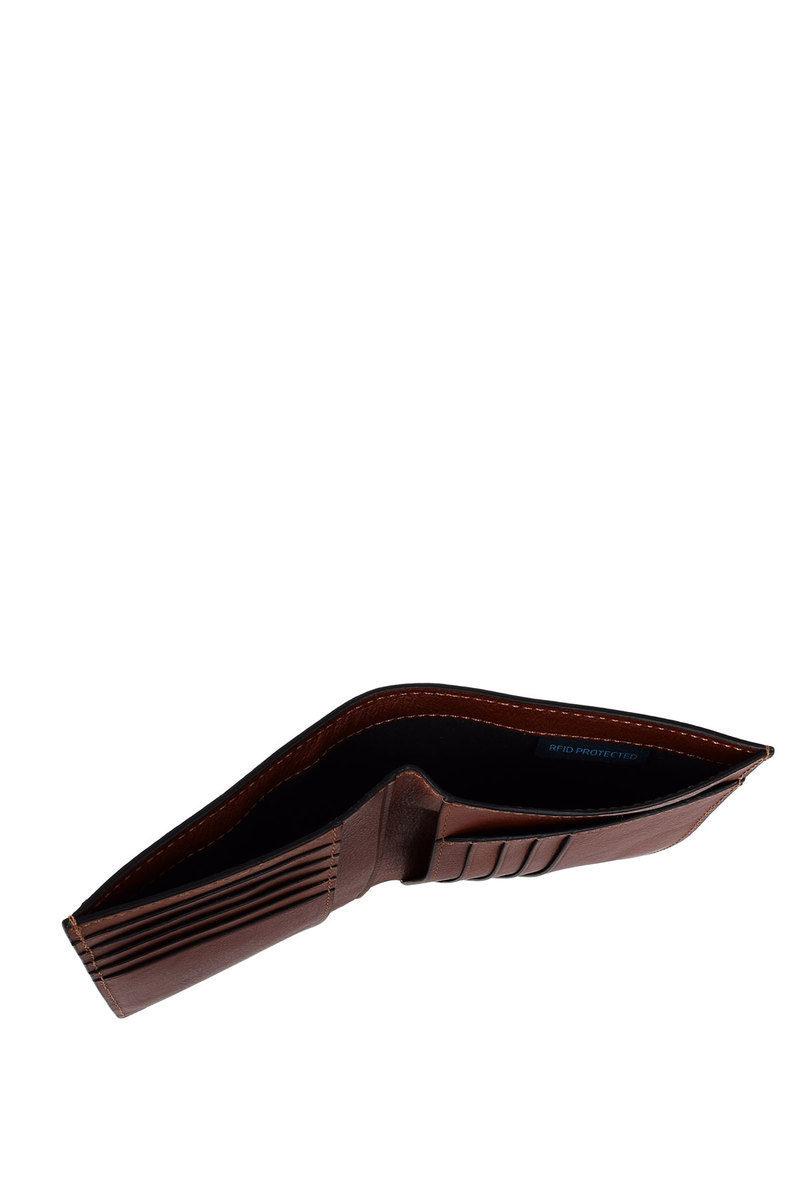 Piquadro BLACK SQUARE Portafoglio con Porta Carte di Credito Marrone ... 72adb6177416