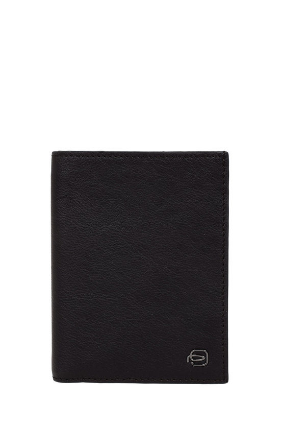 BLACK SQUARE Portafoglio con Porta Carte di Credito Testa di Moro