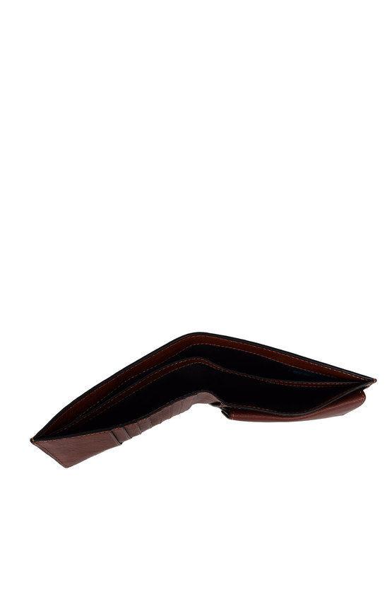 BLACK SQUARE Portafoglio con porta documenti Cuoio