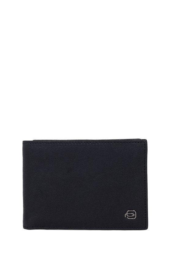 BLACK SQUARE Portafoglio con Porta Monete