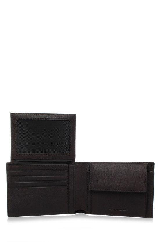 BLACK SQUARE Portafoglio con Portamonete Testa di Moro