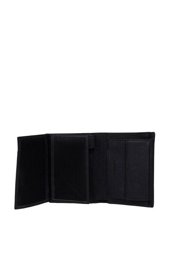 BLACK SQUARE Portafoglio Verticale Blu