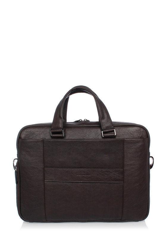 BLACK SQUARE Portfolio Briefcase for PC iPad®Air/Pro 9.7 CONNEQU Dark Brown