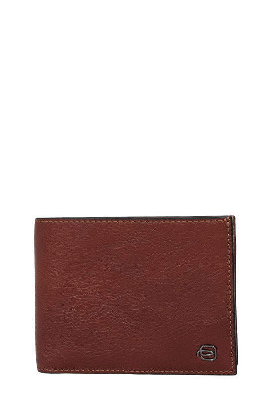 BLACK SQUARE Wallet with Business Card Holder Brown