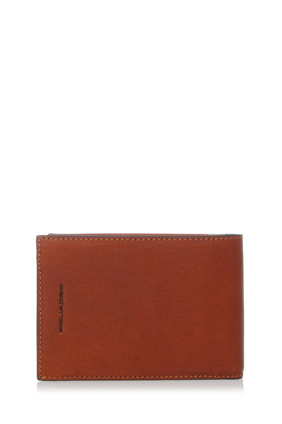 BLACK SQUARE Wallet with Coin Holder Brown