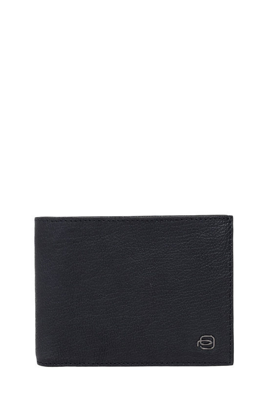 BLACK SQUARE Wallet with Coin Pocket Blue
