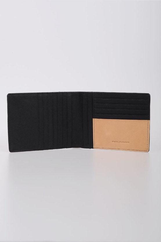 BLADE Portafoglio con porta Carte di Credito Nero