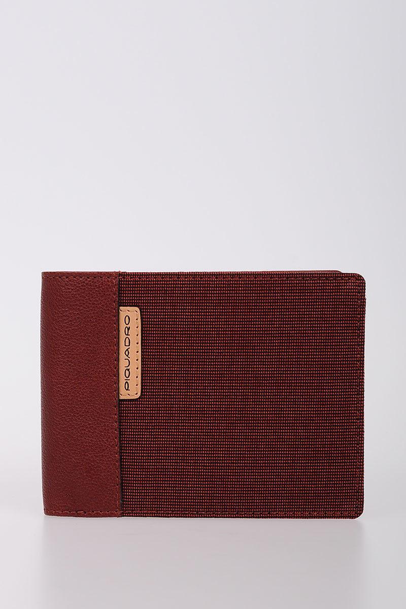 7309a05da0 BLADE Portafoglio con porta Carte di Credito Rosso Piquadro uomo ...