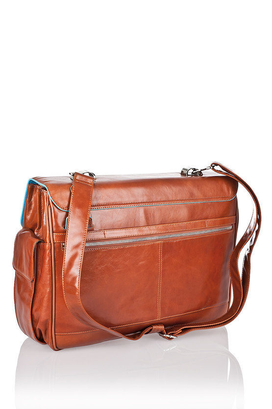 BLUE SQUARE Cartella porta PC 15'' Arancio