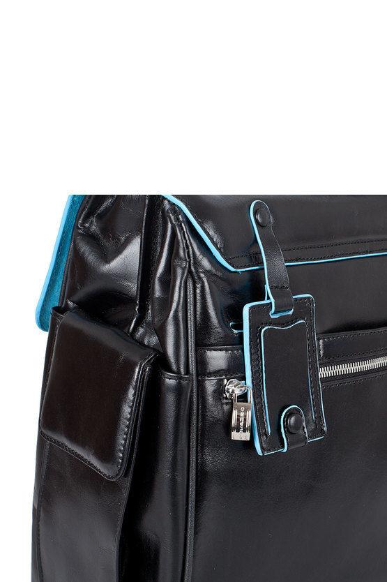 BLUE SQUARE Cartella porta PC 15'' Nero