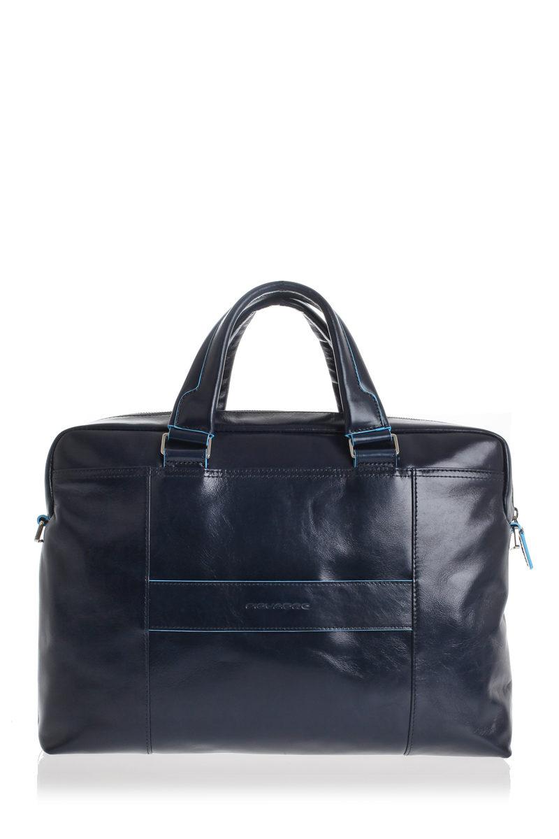 3ce094eb16 BLUE SQUARE Cartella porta PC Blu Piquadro uomo - Cuoieria Shop On-line