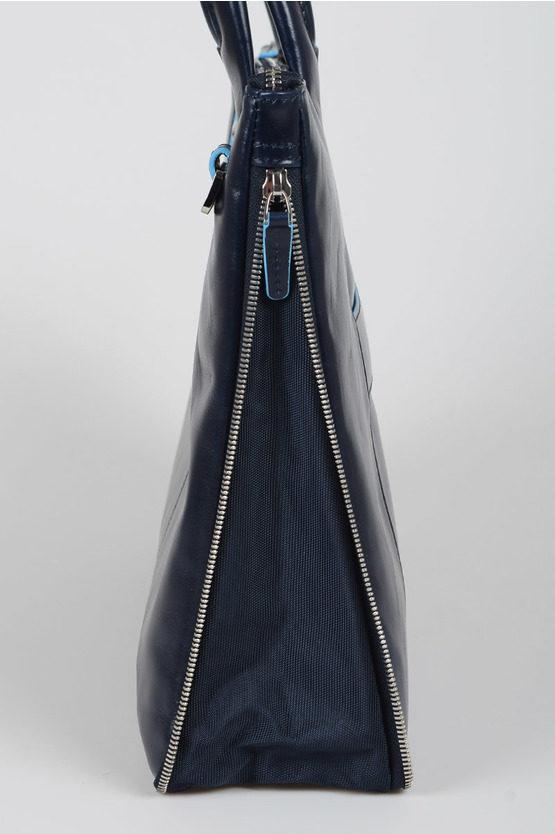 BLUE SQUARE Cartella porta PC Blu