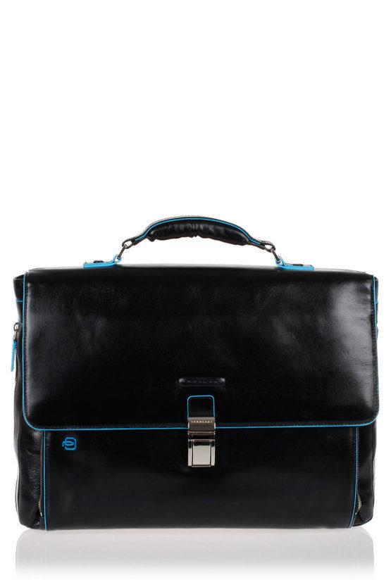 BLUE SQUARE Cartella Porta PC Espandibile Nero