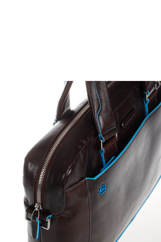 BLUE SQUARE Cartella Porta PC Mogano