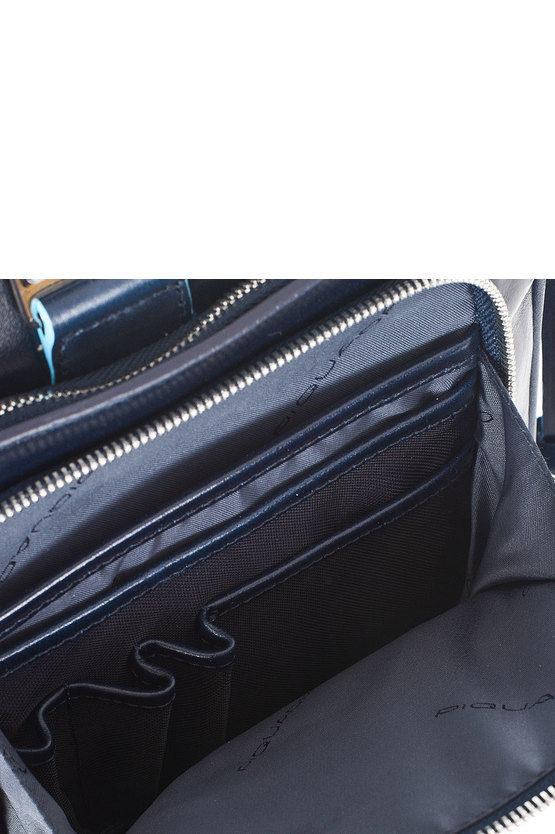 BLUE SQUARE Cartellina porta PC Blu Notte