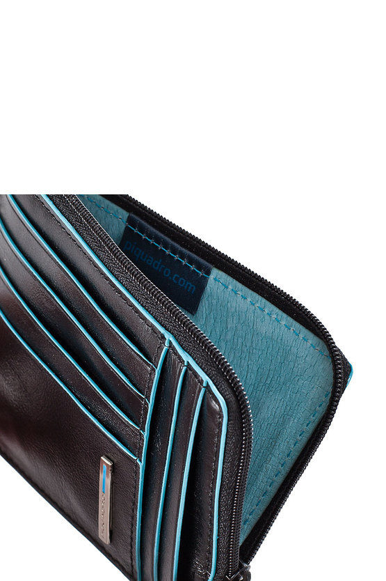 BLUE SQUARE Credit Card Holder Black
