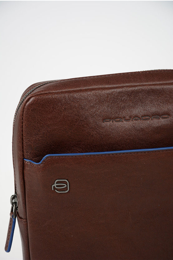 BLUE SQUARE Crossbody Bag For Ipad Brown
